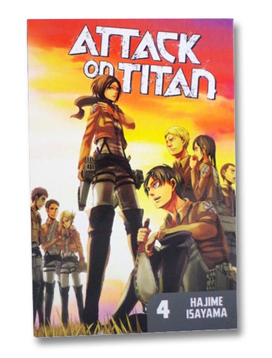 Attack on Titan, Book 4, Isayama, Hajime