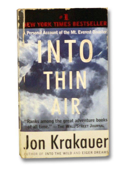 Into Thin Air, Krakauer, Jon