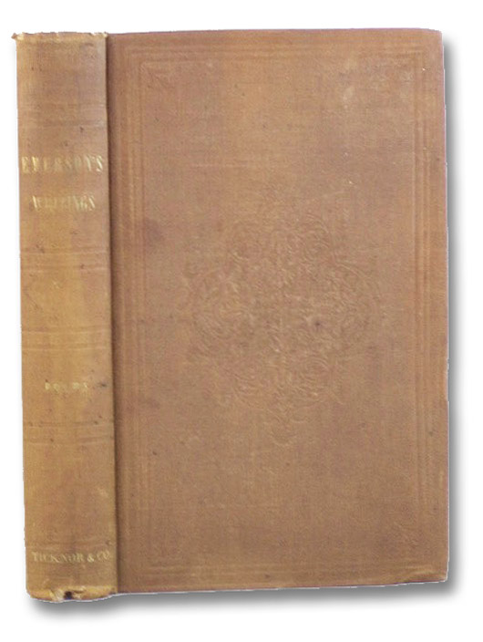 Poems., Emerson, R.W. [Ralph Waldo]