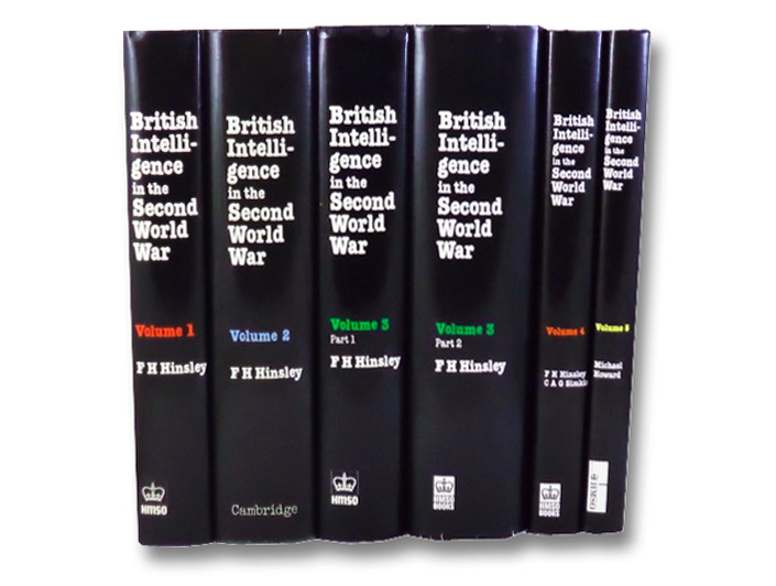British Intelligence in the Second World War: Its Influence on Strategy and Operations, in Six Volumes (History of the Second World War United Kingdom Military Series), Hinsley, F.H.; Thomas, E.E.; Ransom, C.F.G.; Knight, R.C.; Simkins, C.A.G.; Howard, Michael