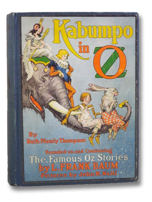 Kabumpo in Oz, Thompson, Ruth Plumly; [Baum, L. Frank]