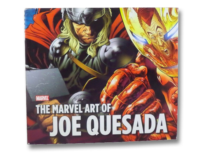 The Marvel Art of Joe Quesada, Thomas, John Rhett; Quesada, Joe; Chaykin, Howard; Bendis, Brian Michael; Brubaker, Ed; Isanove, Richard; Janson, Klaus; Loeb, Jeph; Mack, David