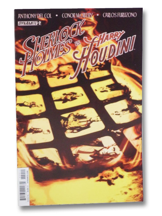 Sherlock Holmes vs Harry Houdini #2, Del Col, Anthony