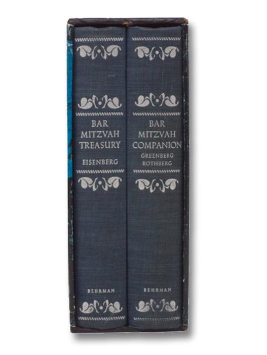 The Bar Mitzvah Treasury and The Bar Mitzvah Companion [Boxed Set], Eisenberg, Azriel; Greenberg, Sidney; Rothberg, Abraham