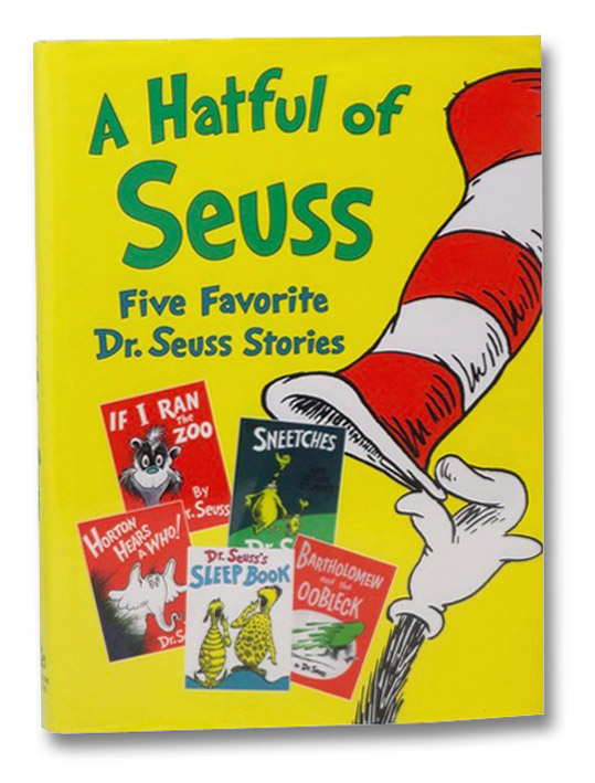 A Hatful of Seuss: Five Favorite Dr. Seuss Stories (Horton Hears A Who!; If I Ran the Zoo; Sneetches; Dr. Seuss's Sleep Book; Bartholomew and the Oobleck), Dr. Seuss