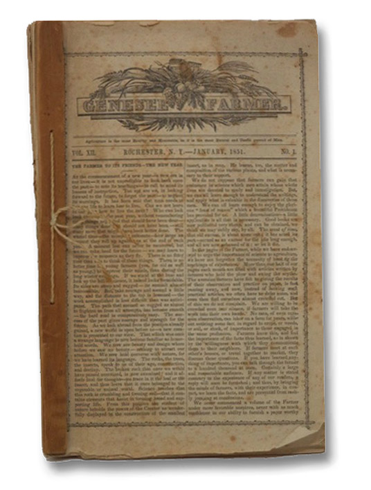 The Genesee Farmer, January, 1851. Vol. XII. No. 1. - 12.