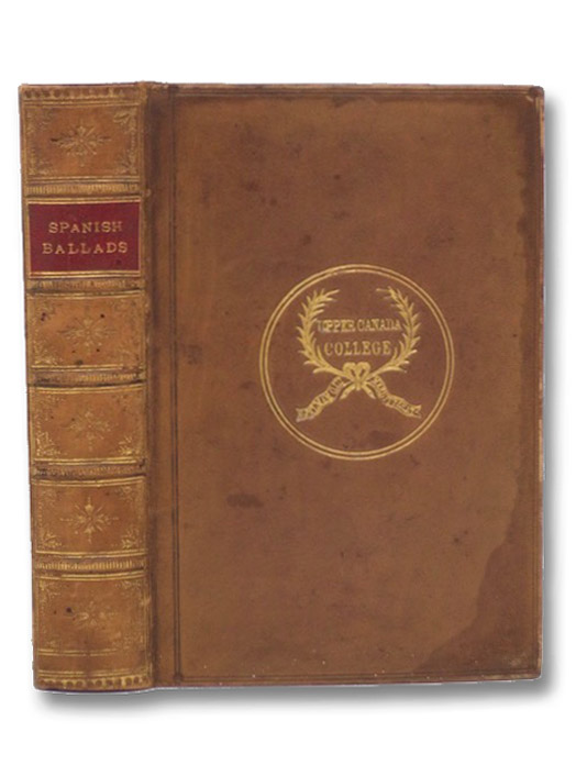 The Spanish Ballads. and the Chronicle of the Cid, Rodrigo Diaz de Bivar, the Campeador. (The 'Chandos Classics.'), Lockhart, J.G.; Southey, Robert