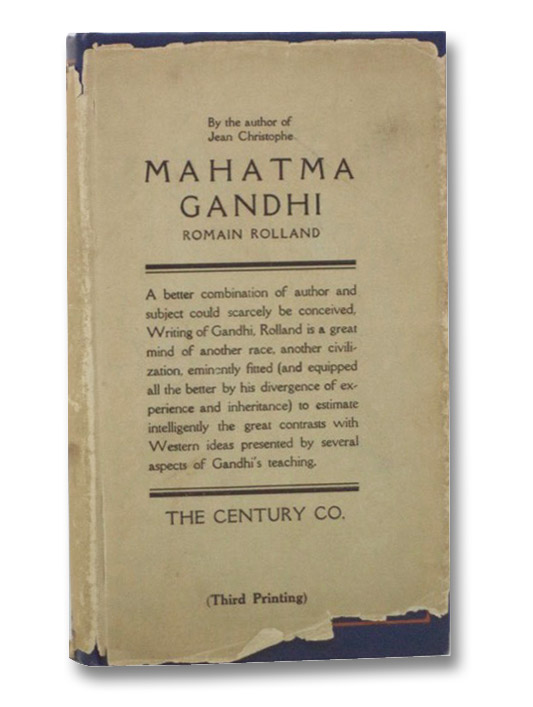 Mahatma Gandhi, Rolland, Romain