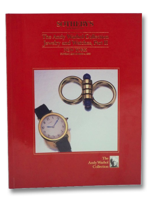 The Andy Warhol Collection Jewelry and Watches, Part II: Sotheby's, New York, Sunday, December 4, 1988
