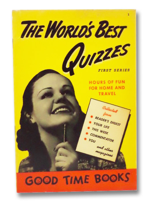 The World's Best Quizzes (First Series), Hart, Harold