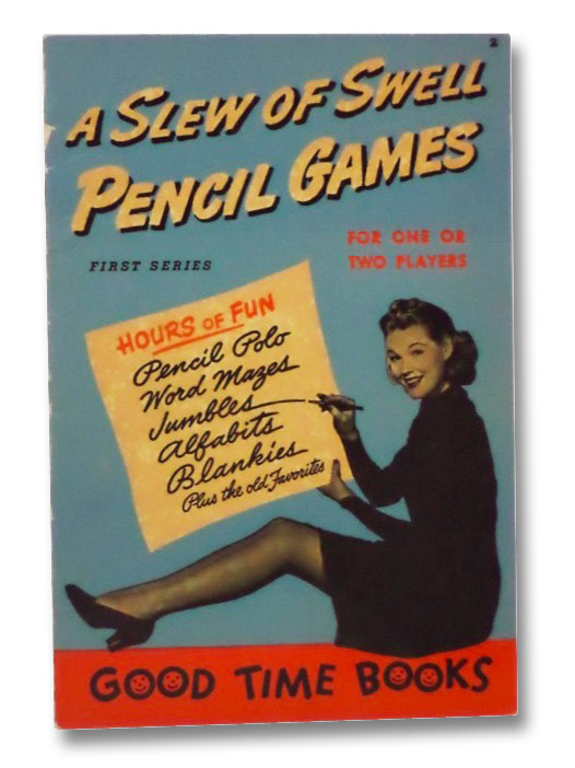 A Slew of Swell Pencil Games: For One or Two Players (First Series), Hart, Harold