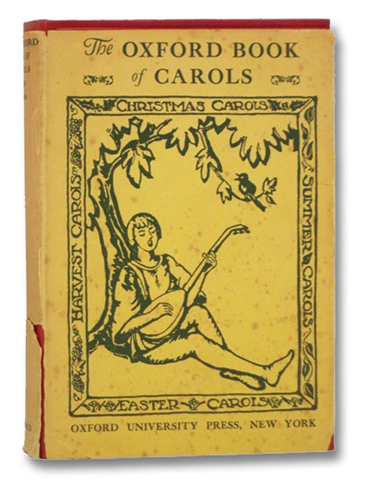 The Oxford Book of Carols, Dearmer, Percy