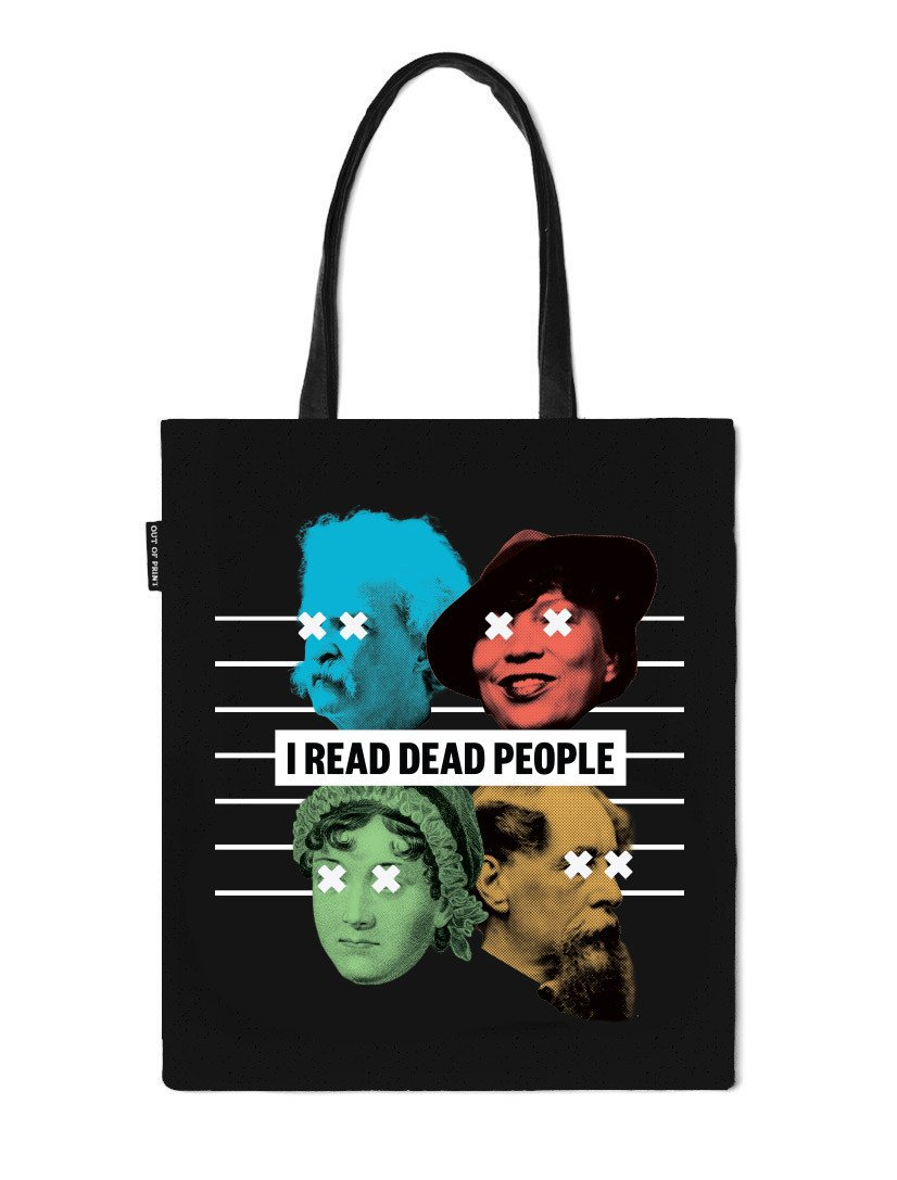 I Read Dead People Tote Bag, Out of Print
