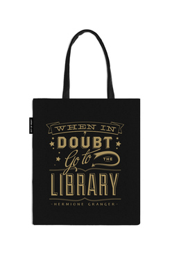 When in Doubt Go to the Library Tote Bag, Out of Print