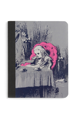 Alice in Wonderland Composition Notebook, Out of Print