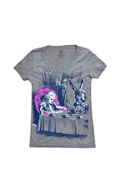 Alice in Wonderland - Women's Medium (V-Neck), Out of Print