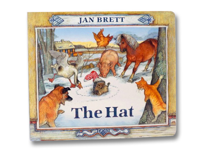 The Hat: Oversized Board Book, Brett, Jan