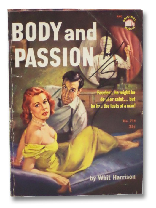 Body and Passion (Original Novels, No. 714), Harrison, Whit