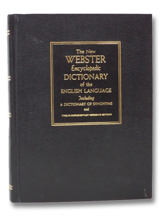 The New Webster Encyclopedic Dictionary of The English Language, Consolidated Book Publishers