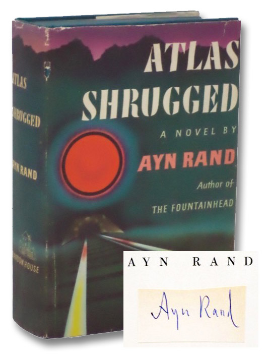 Atlas Shrugged: Signed First Edition, Rand, Ayn