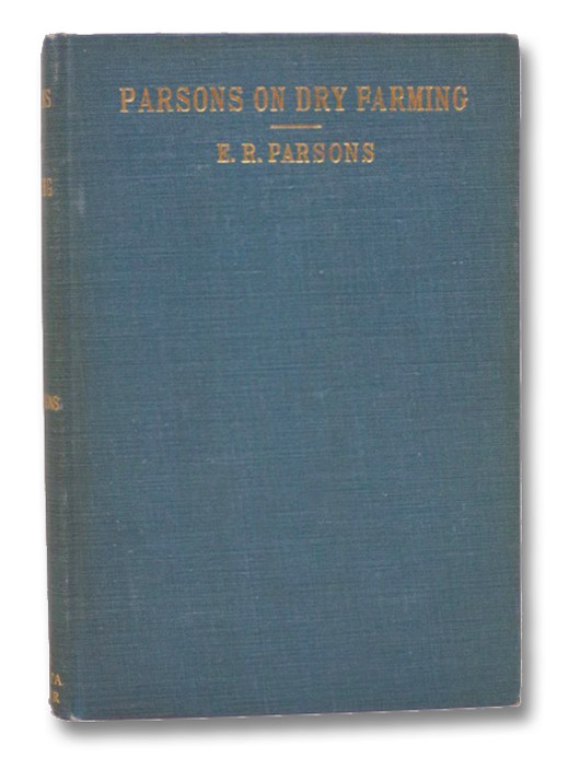 Parsons on Dry Farming, Parsons, E.R.