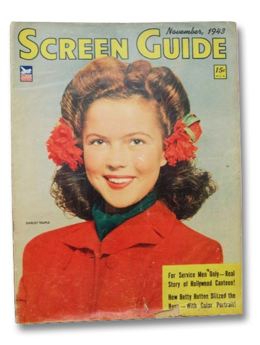 Screen Guide Magazine: November 1943, Schroeder, Carl A.