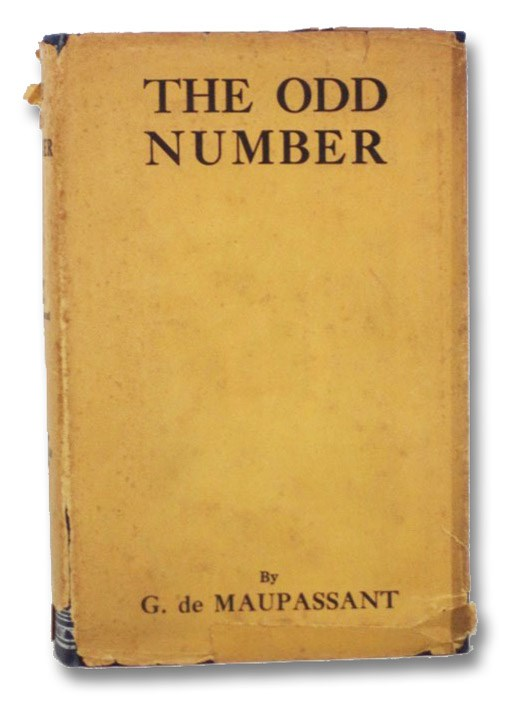 The Odd Number: Thirteen Tales, De Maupassant, Guy; Sturges, Jonathan; James, Henry