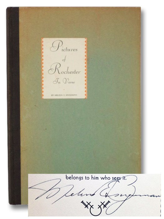 Pictures of Rochester in Verse, Bingeman, Melissa E.