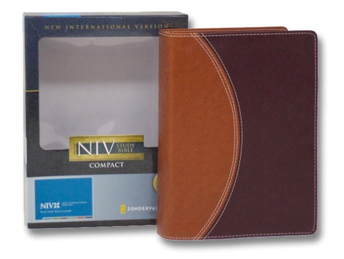 Zondervan NIV Study Bible: Compact Edition [New International Version], Zondervan