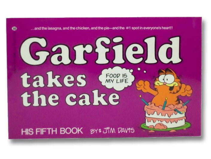 Garfield Takes the Cake (His 5th Book), Davis, Jim