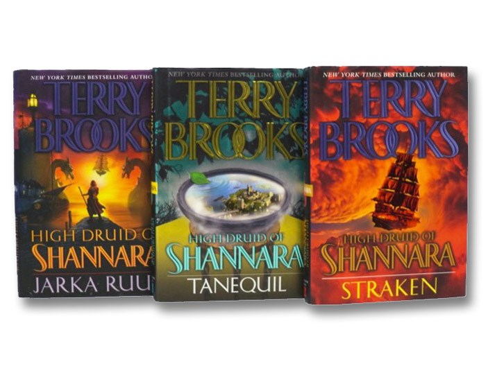 High Druid of Shannara 3-Volume Set: Jarka Ruus; Tanequil; Straken, Brooks, Terry