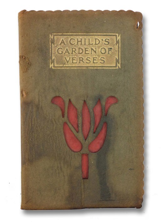 A Child's Garden of Verses suede, Stevenson, Robert Louis