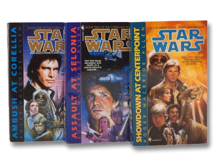 Star Wars: The Corellian Trilogy 3-Volume Set (Ambush At Corellia; Assault At Selonia; Showdown At Centerpoint), Allen, Roger MacBride