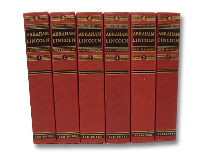 Abraham Lincoln: The Prairie Years & The War Years, in Six Volumes, Sandburg, Carl