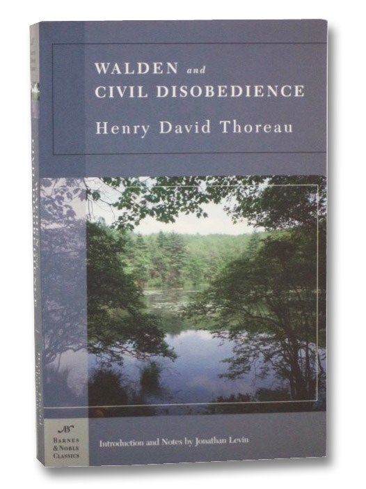 Walden and Civil Disobedience, Thoreau, Henry David