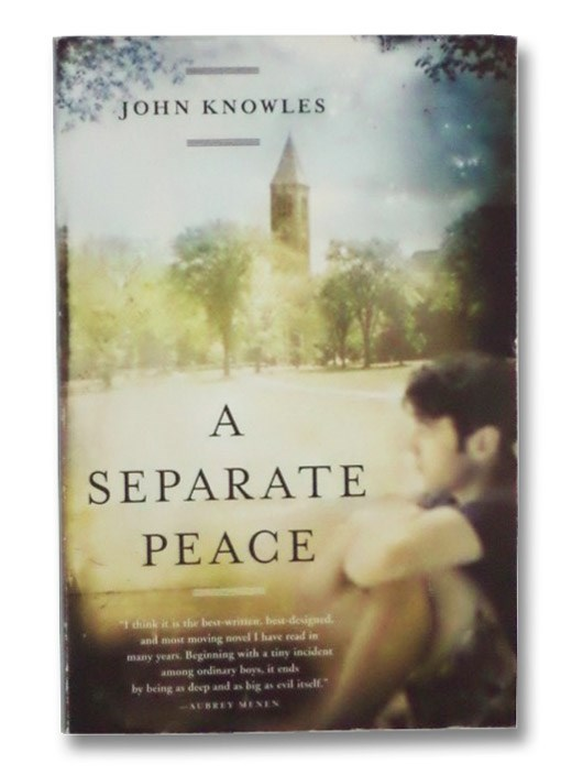 a description of the novel a separate peace by john knowles Get an answer for 'what does john knowles have in common with his novel a separate peace ' and find homework help for other a separate peace questions at enotes.