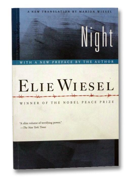 Night, Wiesel, Elie; Wiesel, Marion (Translator)