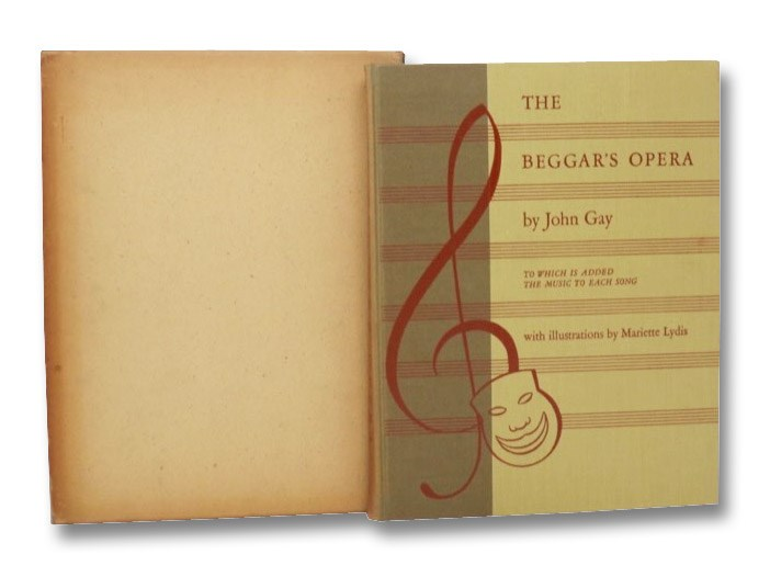 The Beggar's Opera, to which is added the Music to Each Song, Gay, John; Herbert, A.P.