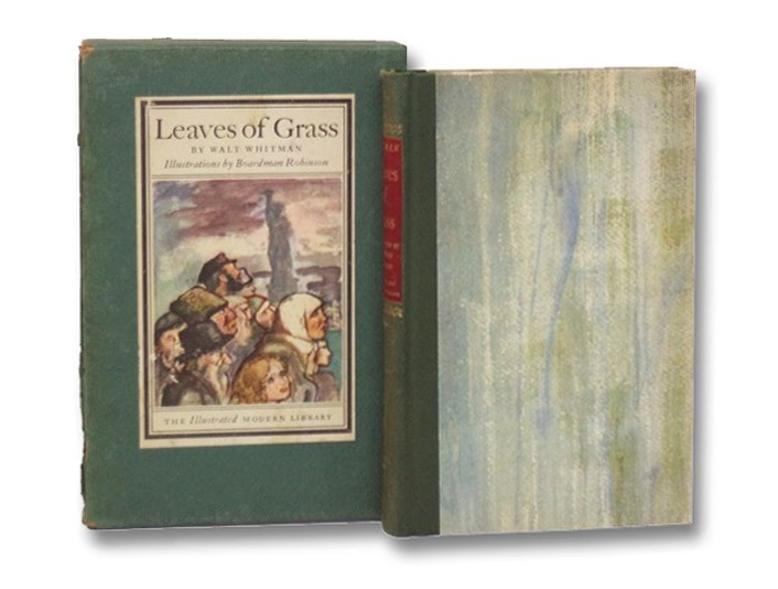 Leaves of Grass (The Illustrated Modern Library), Whitman, Walt; Sandburg, Carl