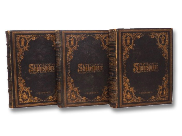 The Complete Works of Shakespeare, from the Original Text: Carefully Collated and Compared with the Editions of Halliwell, Knight, and Collier: with Historical and Critical Introductions, and Notes to Each Play; and A Life of the Great Dramatist - in Three Volumes, Shakespeare, William; Knight, Charles