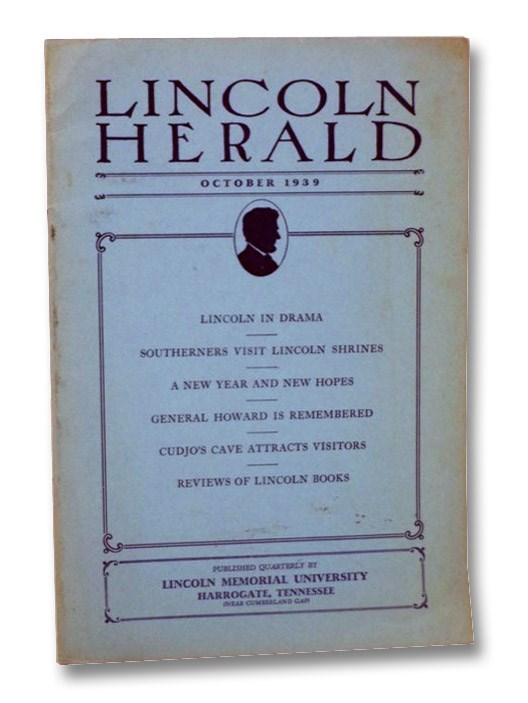 Lincoln Herald, October 1939, Vol. XLII, No. 1