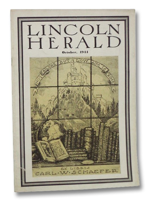 Lincoln Herald, October, 1944, Vol. XLVI, No. 3