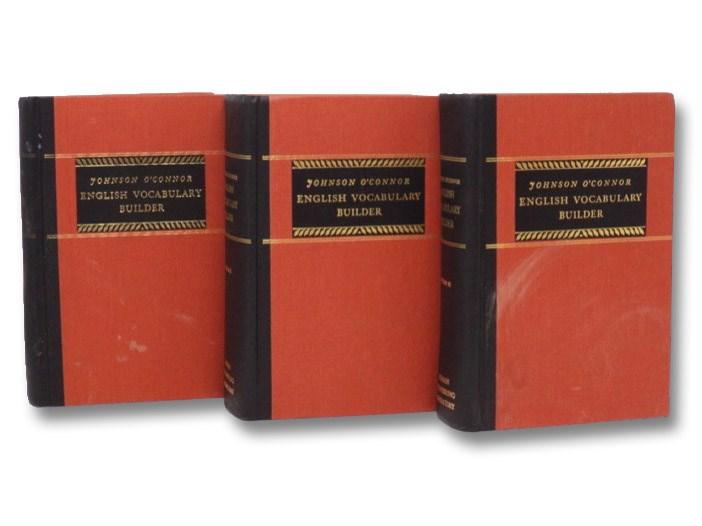 English Vocabulary Builder, in Three Volumes, O'Connor, Johnson