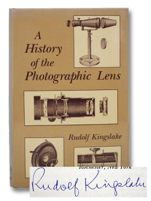 A History of the Photographic Lens, Kingslake, Rudolf