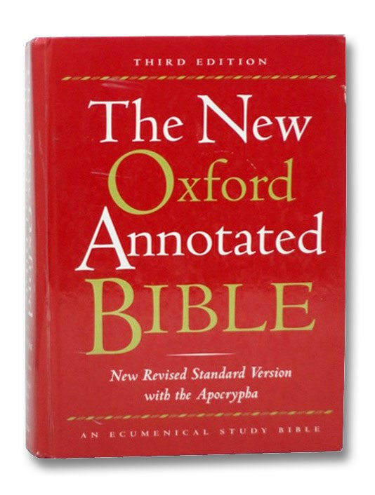 The New Oxford Annotated Bible, Coogan, Michael D. (editor)