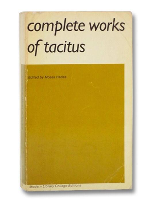 Complete Works of Tacitus, Tacitus, Cornelius