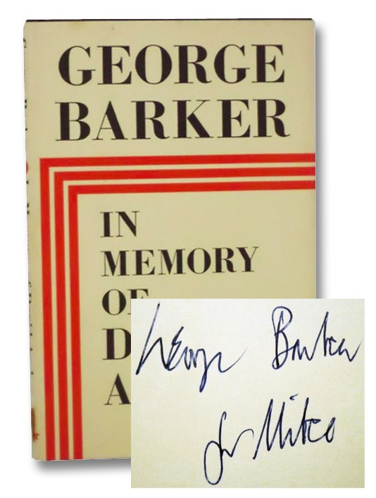 In Memory of David Archer, Barker, George