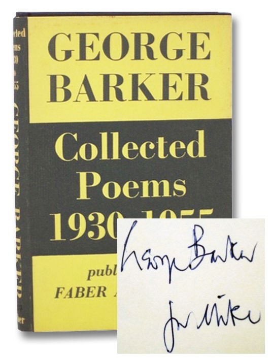 Collected Poems, 1930-1955, Barker, George