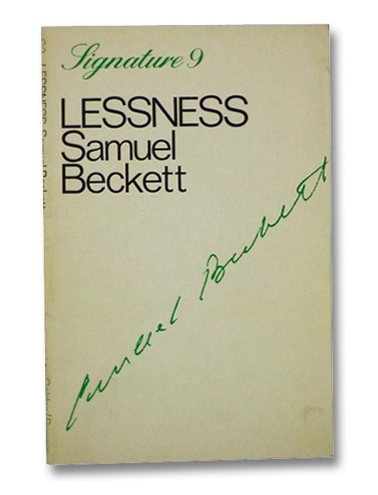 Lessness (Signature Series 9), Beckett, Samuel