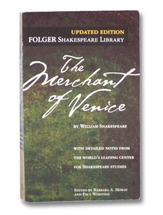 The Merchant of Venice (Folger Shakespeare Library), Shakespeare, William